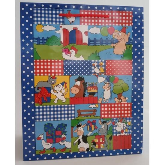 Παιδικό Σχέδιο Ζωάκια Φάρμα Πολυτελείας