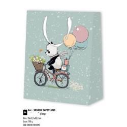 Παιδικό Σχέδιο Αρκουδάκι Ποδήλατο Πολυτελείας
