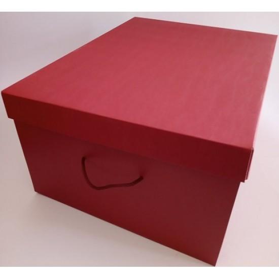 Κουτιά Δώρων Μπορντώ