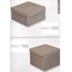 Κουτιά Δώρων Ασημί Απομίμηση Ξύλου