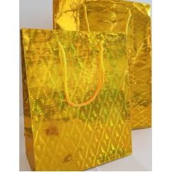 Καθημερινό Σχέδιο Χρυσό LASER Πλαστικοποιημένη