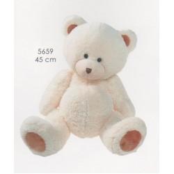 Αρκουδάκι Χρώμα Άσπρο 45cm