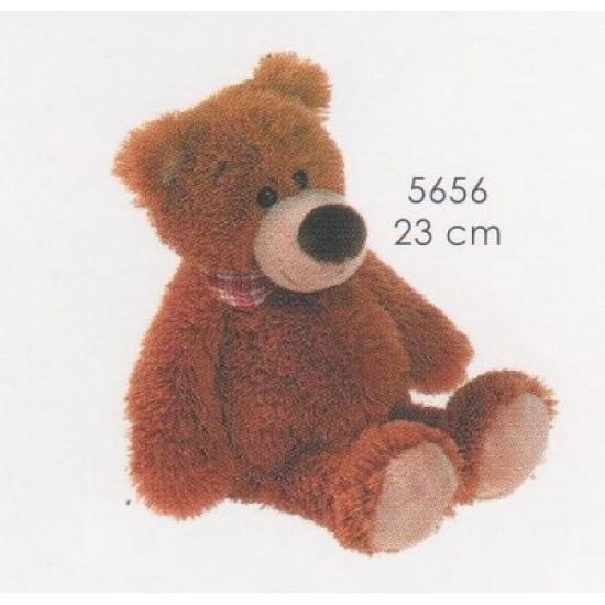 Αρκουδάκι Χρώμα Με Κορδέλα Μελί 23cm